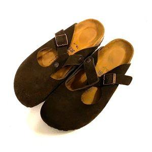 Birkenstock Chocolate Brown EUC Size 39